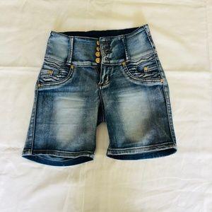Pants - Tush Push Jean Shorts
